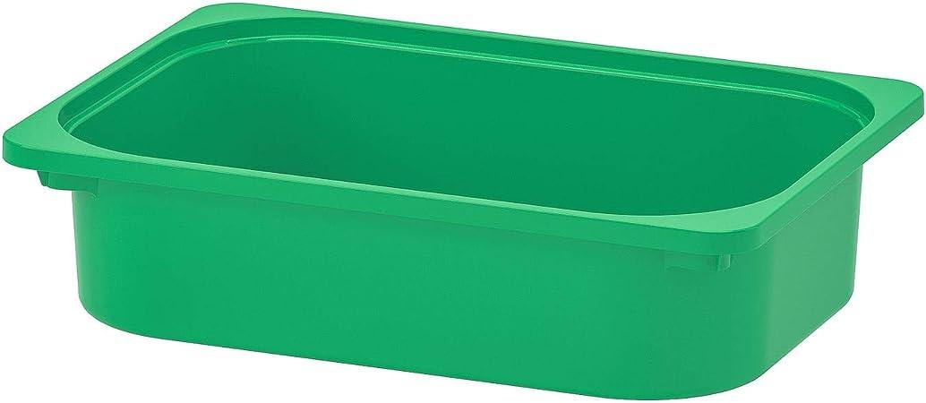 Ikea Trofast - Caja de almacenaje (42 x 30 x 10 cm), Color Verde: Amazon.es: Hogar