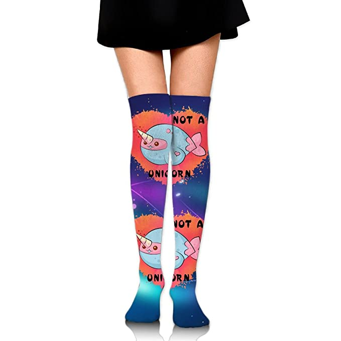 93ad69639d42d Amazon.com: Narwhal Cute Unisex Over Knee High Socks Extra Long Athletic  Sport Tube Socks: Clothing