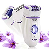 Cheap Women's Epilator, Flend 3 in 1 Electric Hair Removal Shaver, Rechargeable Lady Bikini Trimmer