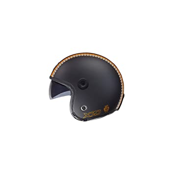 Casco Nexx X70 Freedom Black Soft naranja
