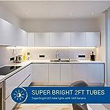 Hyperikon T8 2 Foot LED Tube, T10 T12 25 Watt