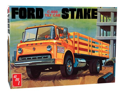 - Round 2 AMT Ford C-600 Stake Bed Truck