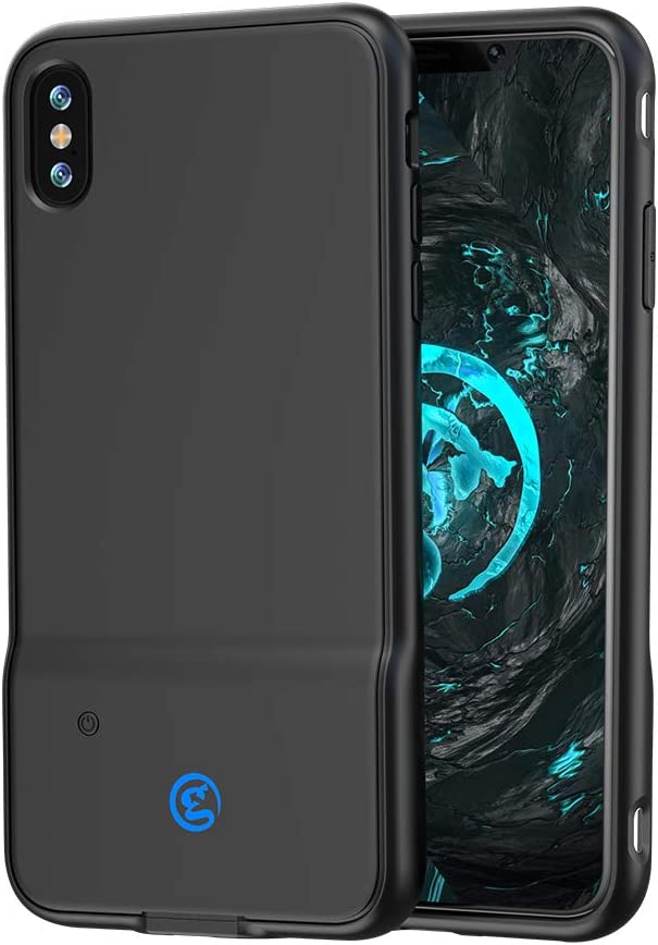 GameSir i3 Mobile Gaming Case Controller for iPhone 6P / 7P / 8P / X/XS/XS Max/XR,Dual Gaming Touch Button,Sensitive Shoot and Aim,Compatible with CODM/PUBG/Fortnite (iPhone X&XS case)