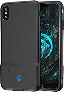 GameSir i3 Mobile Gaming Case Controller for iPhone 6P / 7P / 8P / X/XS/XS Max/XR,Dual Gaming Touch Button,Sensitive Shoot and Aim,Compatible with CODM/PUBG/Fortnite (iPhone Xs Max case)