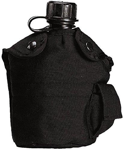Military Style Enhanced Nylon Cordura 1 Qt Canteen Cover ()