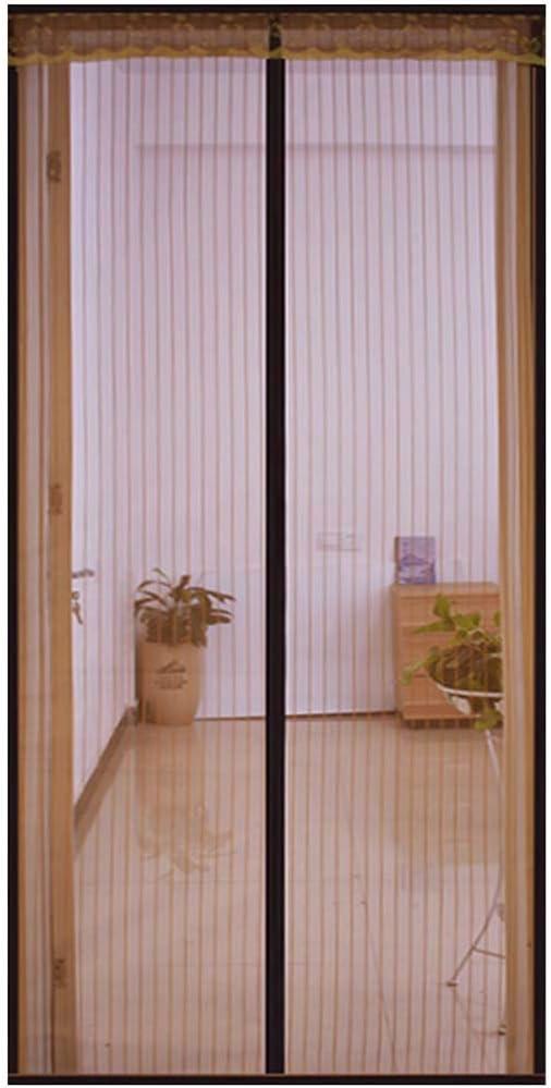 Mosquitera Puerta magnetica Puerta Francesa/Exterior Corredera/Con Iman/Enrollable, Para Puerta De balcóN, Puerta De Terraza, Garaje, Puerta Del Patio, MagnéTica Con Cinta De Velcro,160x240cm: Amazon.es: Bricolaje y herramientas