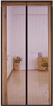 Mosquitera Puerta magnetica Puerta Francesa/Exterior Corredera/Con ...
