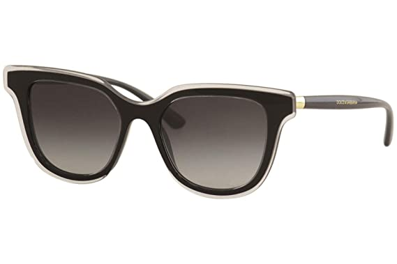 Dolce & Gabbana 0DG4362 Gafas de sol, Top Crystal On Black ...
