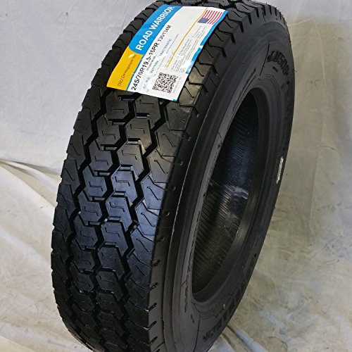 (4-TIRES) 245/70R19.5 H/16 NEW ROAD WARRIOR LONG MARCH LM-508 DRIVE ALL POSITION TIRES 16 PLY 24570195 by ROAD WARRIOR (Image #2)
