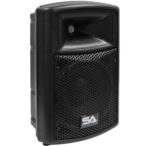 Seismic Audio - PWS-10 - Pro Audio PA DJ Powered 10'' Speakers - Lightweight Molded Active Cabinets  - 400 Watts by Seismic Audio