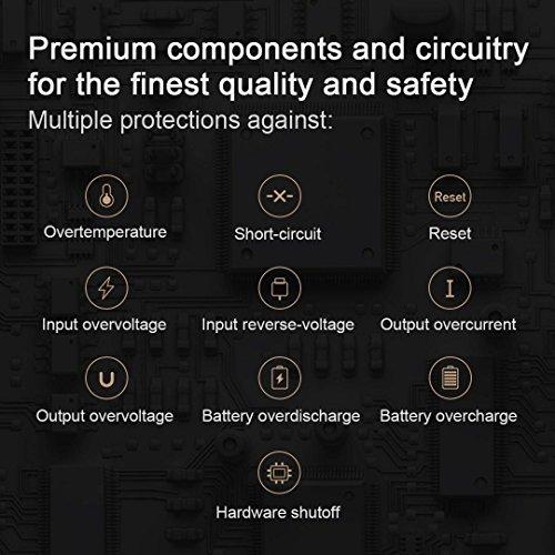 Xiaomi ZMi USB C vitality Bank 10000mAh External Battery journey Charger black External Battery Packs