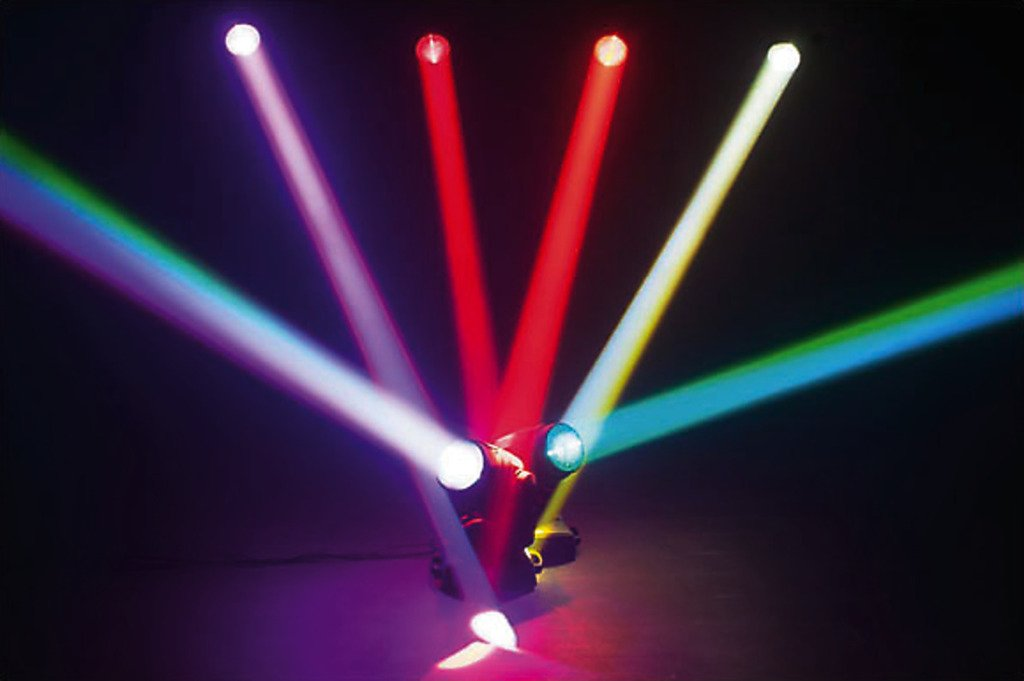 img stage line beam  IMG Stage Line 100LED professionale LED-Moving Head Beam MONACOR ...