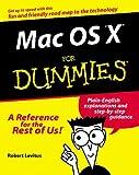 Mac OS X for Dummies, Robert Le Vitus and Shelly Brisbin, 0764507060