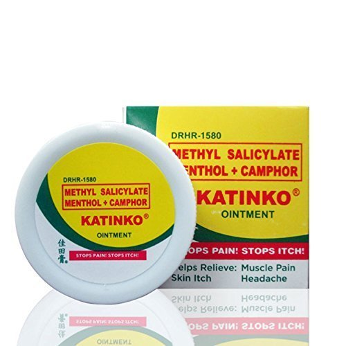 hyl Salicylate Menthol + Camphor 10gr HALAL by Katinko Ointment ()