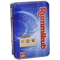 Goliath - Juego Rummikub de viaje en caja metálica (50105212)