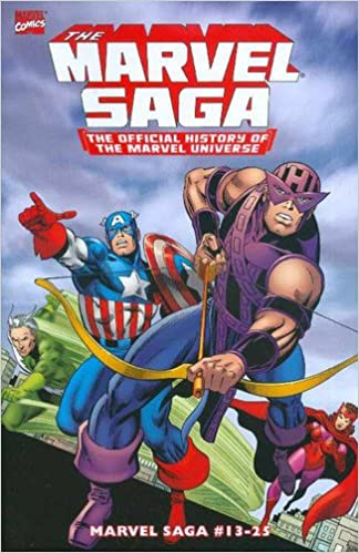 essential marvel saga volume 2