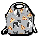Neoprene Reusable Insulated Lunch Tote Bag School Picnic Thermal Carrying Gourmet Lunchbox Container