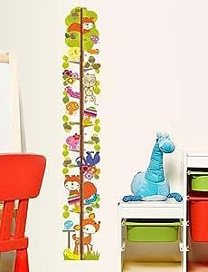 Reino Unido de la etiqueta de la pared pegatinas de pared árbol de la altura de PVC extraíble y lavable