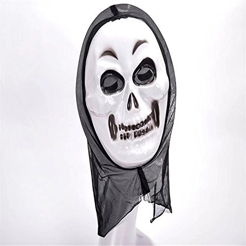 [OOPP Halloween Adult Ghost Face Mask,Costume Party Witch Mask,Creepy Scary Ghosts Masks for halloween horror nights 1 Pcs (Witch Image)] (Scary Halloween Mask Images)