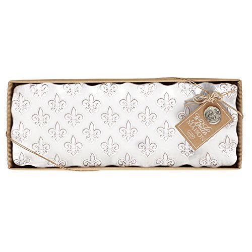 (Mud Pie Fleur de Lis Hostess Platter, White)