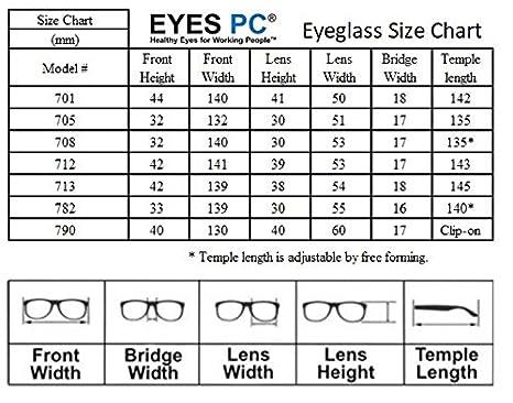 Eyes Pc Blue Light Blocking Clip Ons Reduce Digital Eyestrain Uv And Blue Light Blocking Eyewear