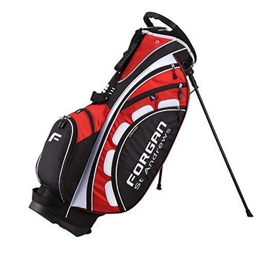 Forgan of St Andrews PRO ll Golf Stand Bag (Red)