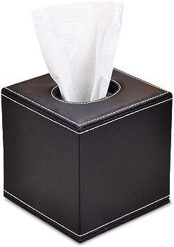 Ardentity – Caja para pañuelos de bolsillo, caja de almacenamiento, piel sintética, compartimento para pañuelos, caja para el hogar, oficina, coche, multifunción, práctica caja para pañuelos, Negro: Amazon.es: Bricolaje y herramientas