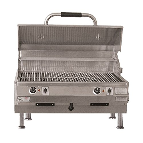 ries 32 In Table Top Grill with Dual Temp Control ()