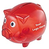 Piggy Bank - 150 Quantity - $2.65 Each - PROMOTIONAL PRODUCT / BULK / BRANDED with YOUR LOGO / CUSTOMIZED