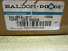 Dodge 2A9.0B9.4-2517 Taper Lock Sheave 118046 2A90B942517