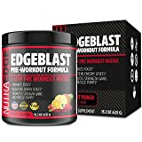 EDGEBLAST 5-Step Pre-Workout Matrix, NutraEdge 435G Pre-Workout Formula, Enhances Focus and Heightens Energy Levels, Promotes Strength Gains and Muscle Pumps, Fruit Punch Flavor.