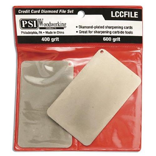 PSI Woodworking LCCFILE Credit Card Diamond File Set