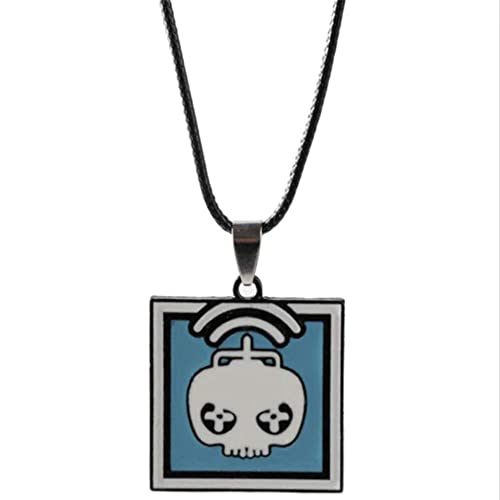 AEmber BK - R6 Twitch Keychain and Pendant Necklace