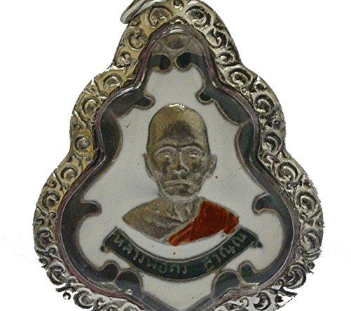 Jewelry Pendants Thai Famous Amulets Luangphor Kong Suwaanna Strong Life Protection Talisman ()