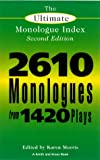 The Ultimate Monologue Index, , 1575251833