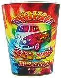 #SG107 Woodstock Tie Dye Shot Glass (Qtys of 6) fun reol4p2d39 n934kt00ji10 gifts toys accessories