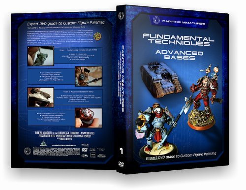 Painting Miniatures Expert Painting DVD Guide From Golden Demon Judge Blue Set