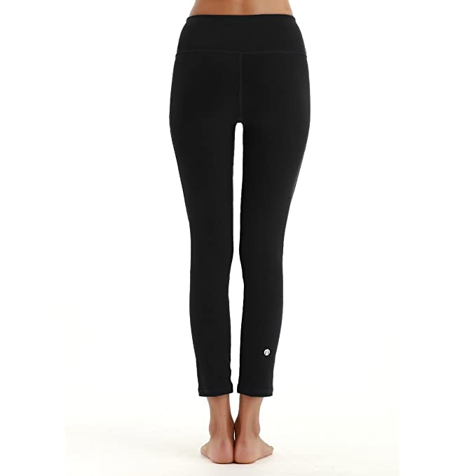 ce2a3b88d389a7 Amazon.com : YAHA Women's 7/8 Medium Waist Tights Yoga Pants Workout  Leggings : Sports & Outdoors