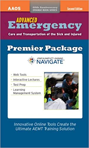 Advanced emergency care and transportation of the sick and injured advanced emergency care and transportation of the sick and injured premier package orange 2nd edition fandeluxe Gallery