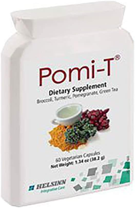 Pomi-T Polyphenol Food Supplement 60 Capsules Pack of 2