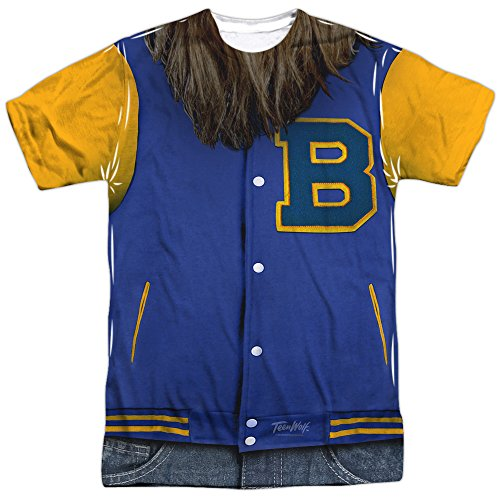Official Teen Wolf Classic Film Beavers Varsity Jacket Costume Shirt - S to 3XL