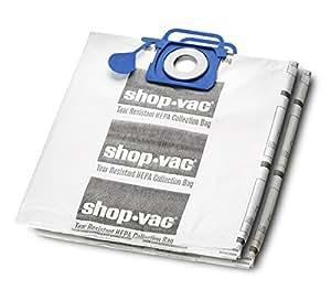 Amazon.com: Shop-Vac HEPA - Bolsas de filtro resistentes a ...