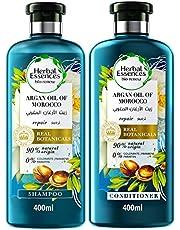 Herbal Essences Bio Renew Argan Oil of Morocco Shampoo 400 ml+ Conditioner 400 ml