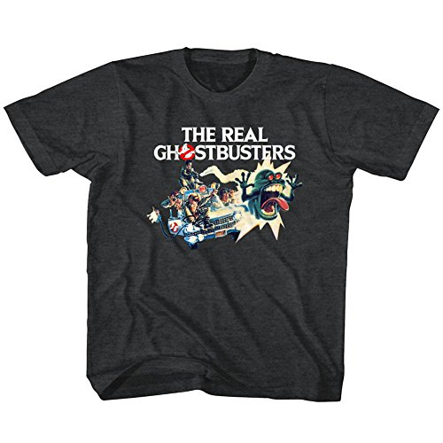 American Classics The Real Ghostbusters TV Series Car Chase Toddler Little Boys T-Shirt Tee by American Classics (Image #1)