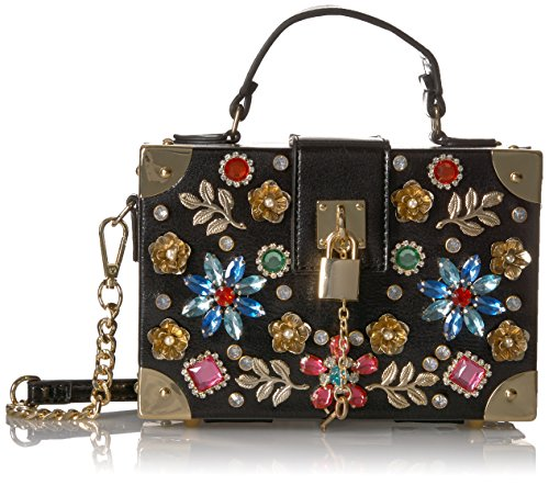 Aldo Euronike Top Handle Cross Body  Black Multi