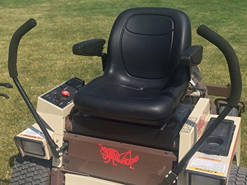 Grasshopper Replacement Seat with Slide Track & Arm Rests...