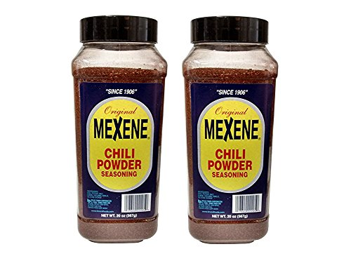 Mexene Chili Powder, 20-Ounce Plastic Canisters (Pack of 2)