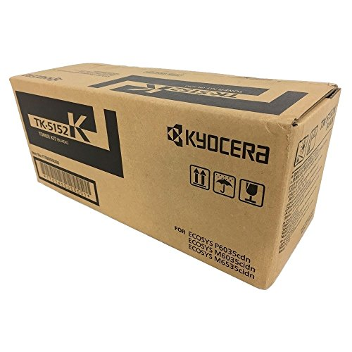 Kyocera TK-5152K Black Standard Yield Toner Cartridge