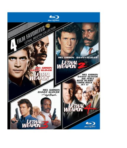 Blu-ray : 4 Film Favorites: Lethal Weapon (Boxed Set, Dolby, AC-3, , 4 Disc)