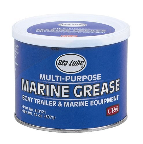 CRC SL3121 Marine Boat Trailer and 4 x 4 Wheel Bearing Grease - 14 wt. oz. Size: 14 Ounce, Model: SL3121, Outdoor&Repair Store